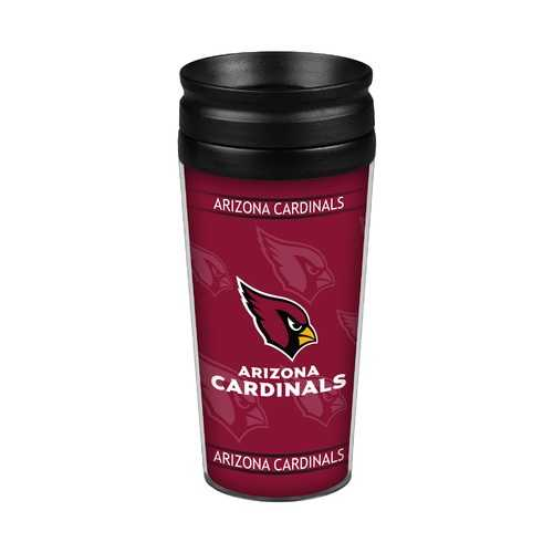 Arizona Cardinals 14oz. Full Wrap Travel Mug