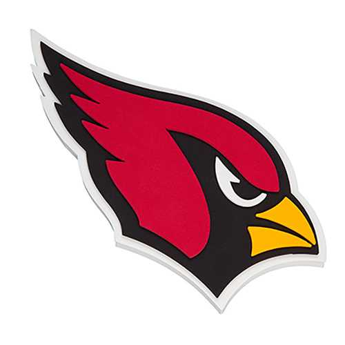 Arizona Cardinals Magnet 3D Foam