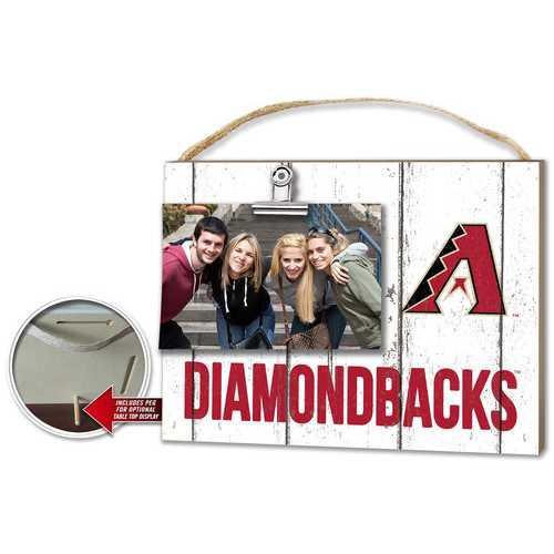 Arizona Diamondbacks Clip It Weathered Logo Photo Frame