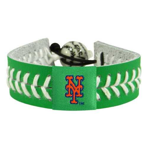 New York Mets Bracelet Team Color Baseball St. Patrick's Day
