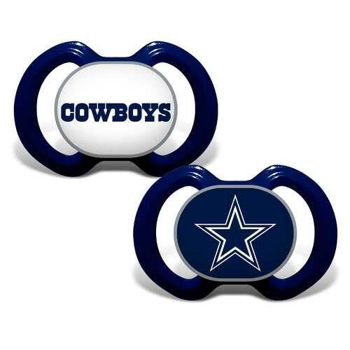 Dallas Cowboys Pacifier 2 Pack