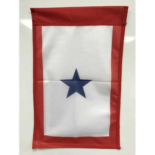 Blue Star Flag 12x18 Garden Style