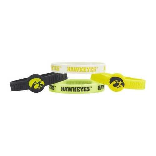 Iowa Hawkeyes Bracelets 4 Pack Silicone