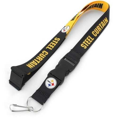 Pittsburgh Steelers Lanyard Breakaway Style Slogan Design