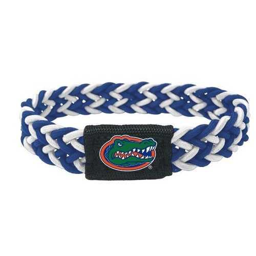 Florida Gators Bracelet Braided Blue and White