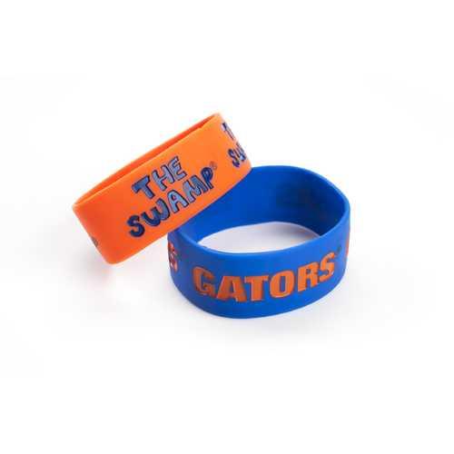 Florida Gators Bracelets 2 Pack Wide