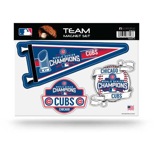 Chicago Cubs Team Magnet Set 2016 World Series Champs