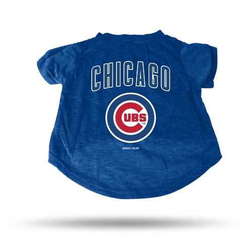 Chicago Cubs Pet Tee Shirt Size L