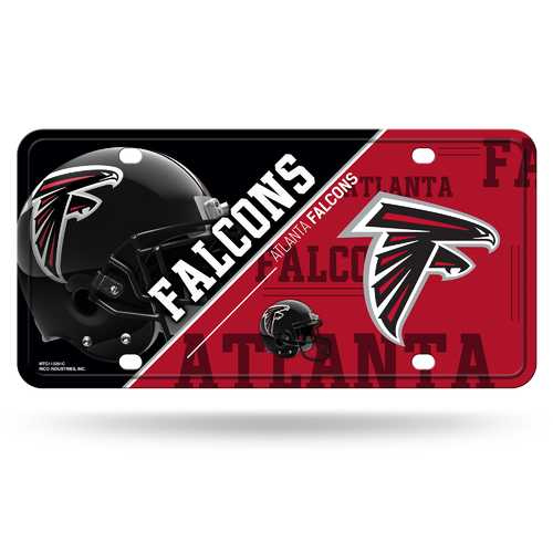Atlanta Falcons License Plate Metal