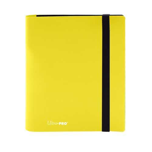 4 Pocket PRO Binder Eclipse Lemon Yellow Special Order