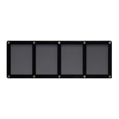 4 Card Holder - Black