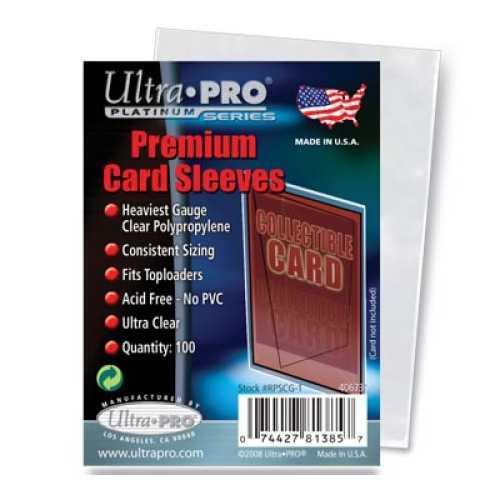 Platinum Card Sleeve - (100 per pack)