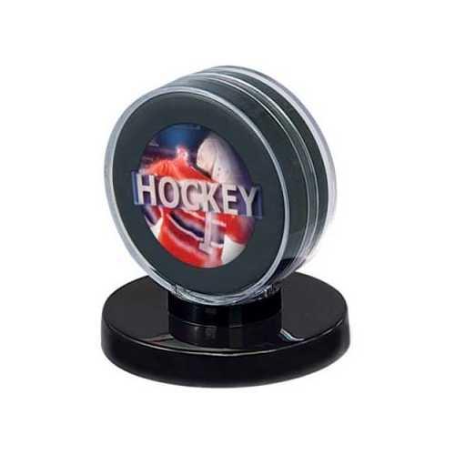 Hockey Puck Holder - Black Base