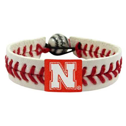 Nebraska Cornhuskers Bracelet - Classic Baseball