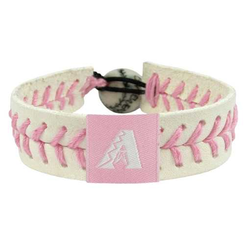 Arizona Diamondbacks Bracelet Baseball Pink