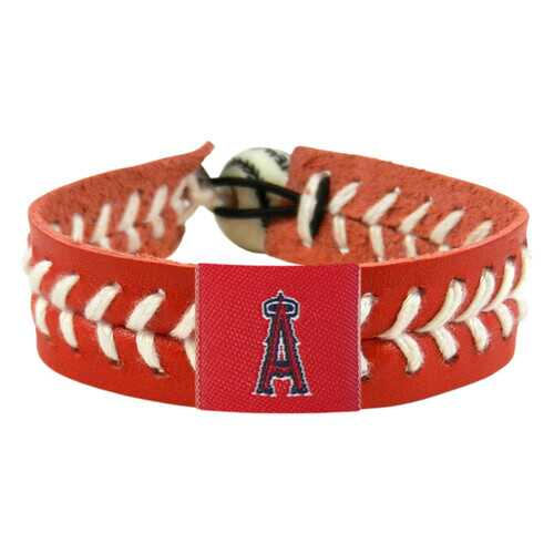 Los Angeles Angels Bracelet Team Color Baseball