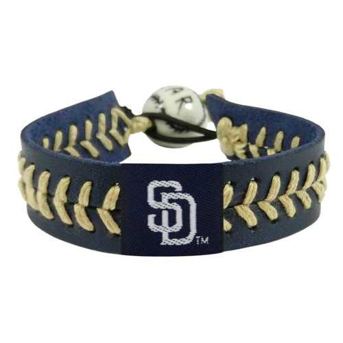 San Diego Padres Bracelet Team Color Baseball