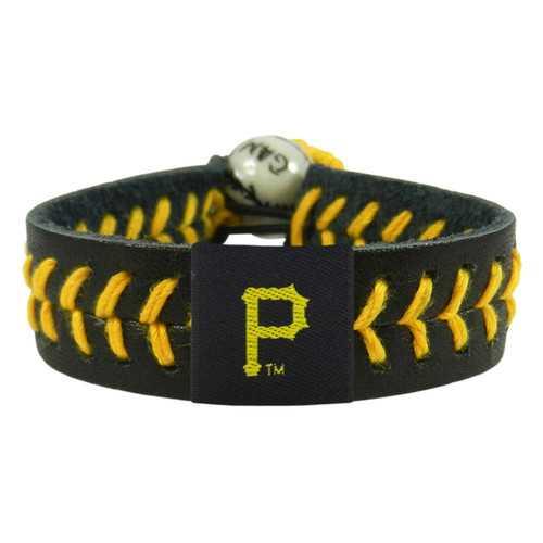 Pittsburgh Pirates Bracelet Team Color Baseball