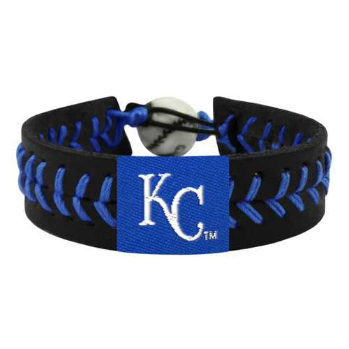 Kansas City Royals Bracelet Team Color Baseball