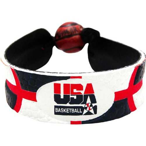 USA Basketball Bracelet Team Color Basketball