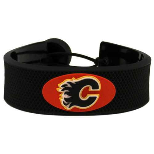 Calgary Flames Bracelet Classic Hockey