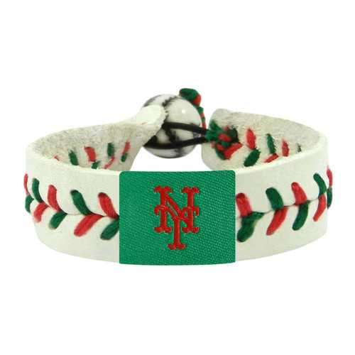 New York Mets Bracelet Team Color Baseball Holiday
