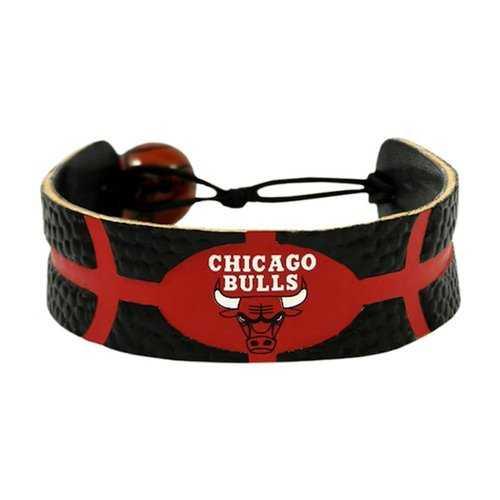 Chicago Bulls Bracelet Team Color Basketball