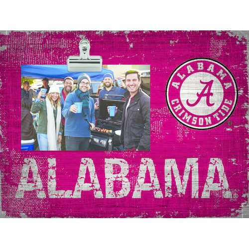 Alabama Crimson Tide Clip Frame