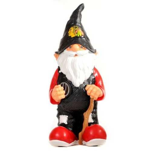 Chicago Blackhawks Garden Gnome 11 Inch Team Special Order