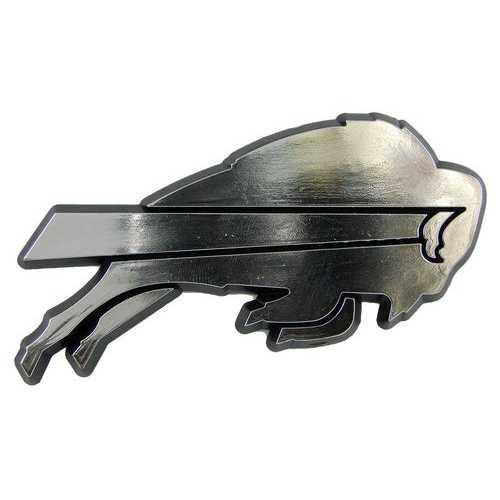Buffalo Bills Auto Emblem - Silver
