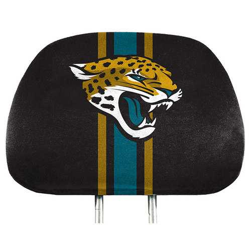 Jacksonville Jaguars Headrest Covers Full Printed Style Special Order