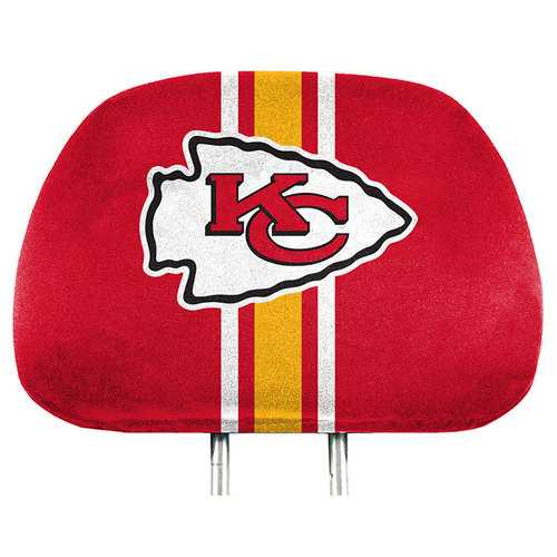 Kansas City Chiefs Headrest Covers Full Printed Style Special Order