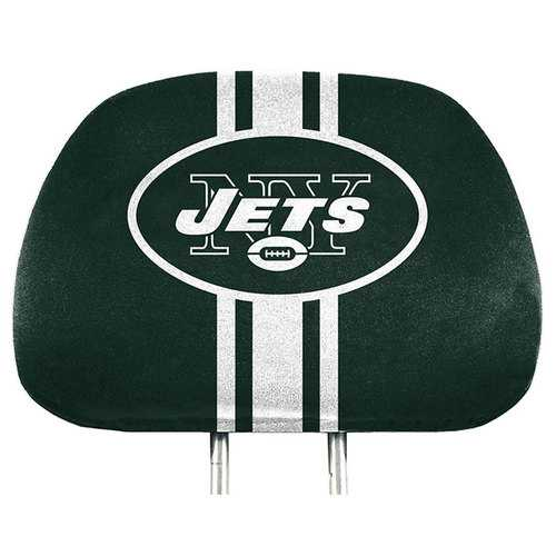 New York Jets Headrest Covers Full Printed Style
