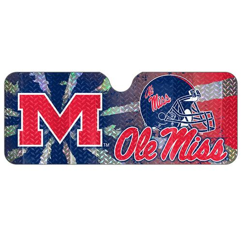 Mississippi Rebels Auto Sun Shade