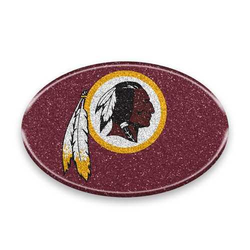 Washington Redskins Auto Emblem - Oval Color Bling