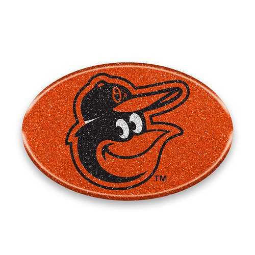 Baltimore Orioles Auto Emblem - Oval Color Bling