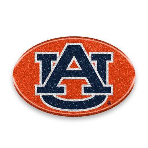 Auburn Tigers Auto Emblem - Oval Color Bling