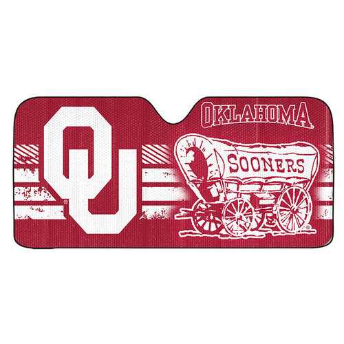 Oklahoma Sooners Auto Sun Shade 59x27
