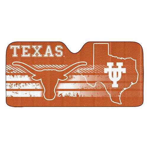 Texas Longhorns Auto Sun Shade 59x27