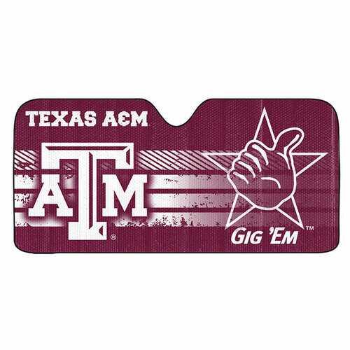 Texas A&M Aggies Auto Sun Shade 59x27