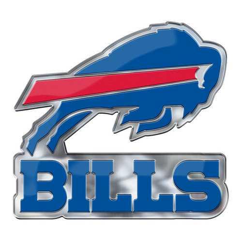 Buffalo Bills Auto Emblem Color Alternate Logo