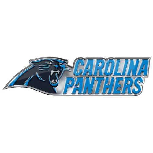 Carolina Panthers Auto Emblem Color Alternate Logo