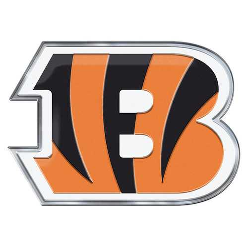Cincinnati Bengals Auto Emblem Color Alternate Logo