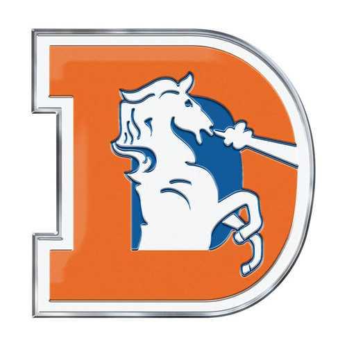 Denver Broncos Auto Emblem Color Alternate Logo