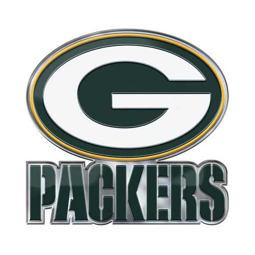 Green Bay Packers Auto Emblem Color Alternate Logo