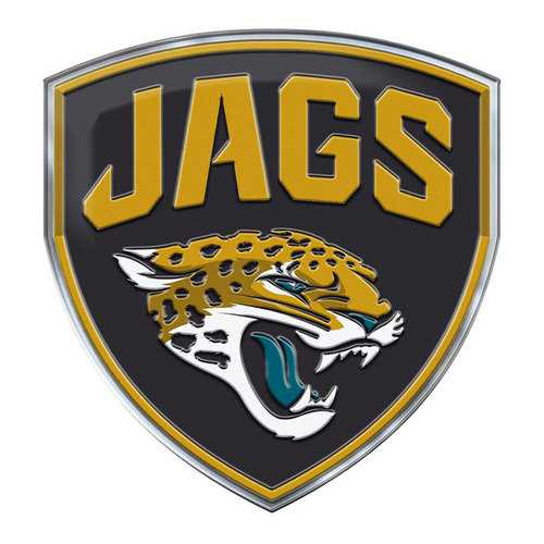 Jacksonville Jaguars Auto Emblem Color Alternate Logo