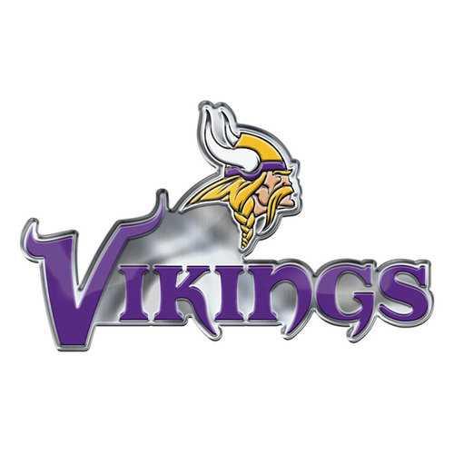 Minnesota Vikings Auto Emblem Color Alternate Logo