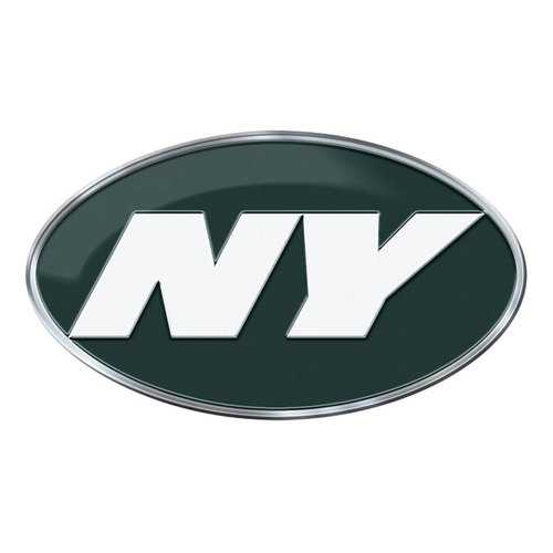 New York Jets Auto Emblem Color Alternate Logo