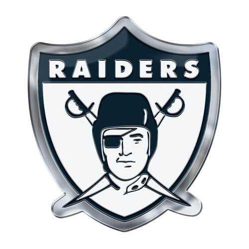 Oakland Raiders Auto Emblem Color Alternate Logo