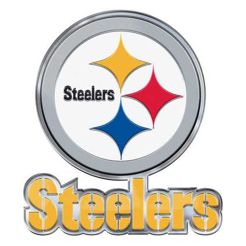 Pittsburgh Steelers Auto Emblem Color Alternate Logo
